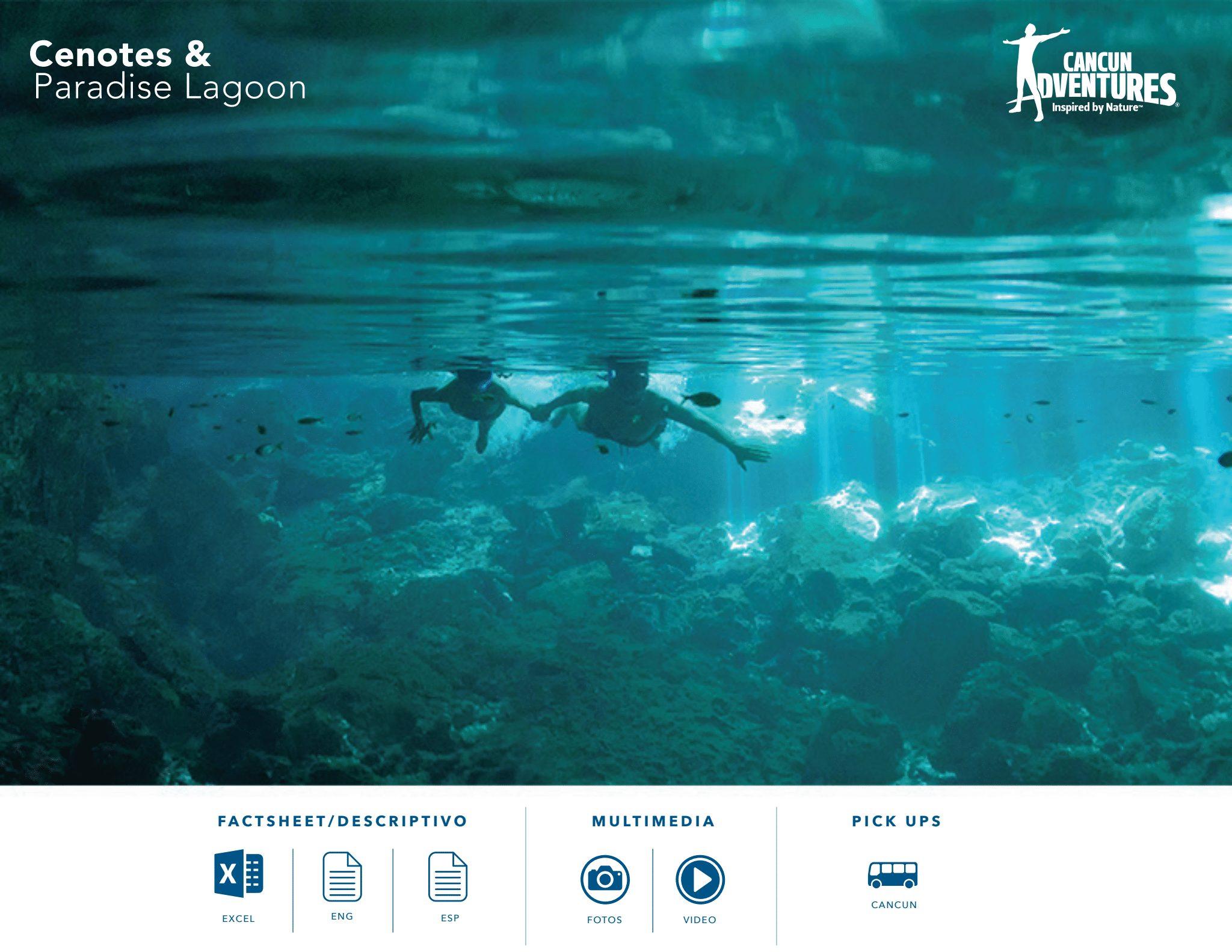 Cenotes & Paradise Lagoon